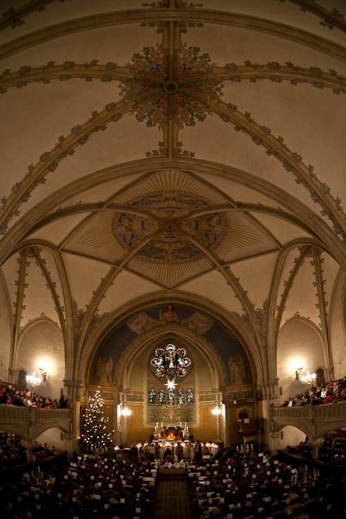 Krippenspiel in der Himmelfahrtskirche in Dresden-Leuben