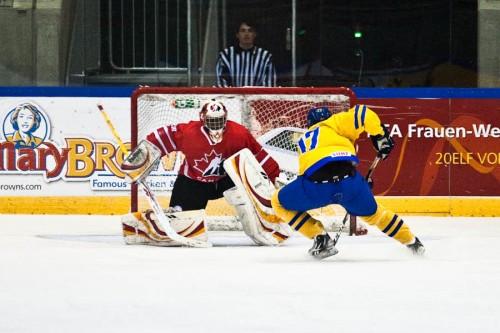 Penalty gegen Kanada – und trotzdem blieb das Tor sauber.