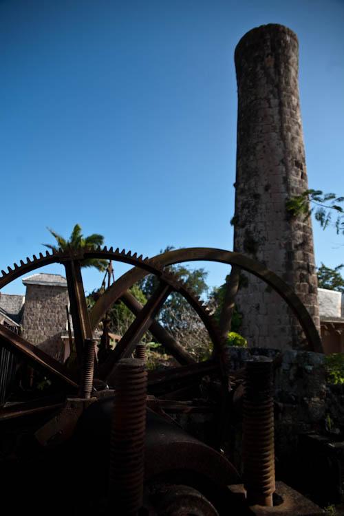 Alte Zuckerrohrfabrik, Nevis, St. Kitts and Nevis