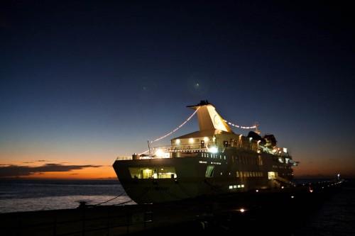 MS Vistamar an der Pier von St. George's, Grenada