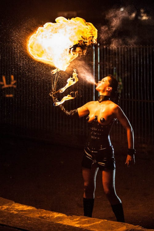 Fire-Eating Girl Show, 2009