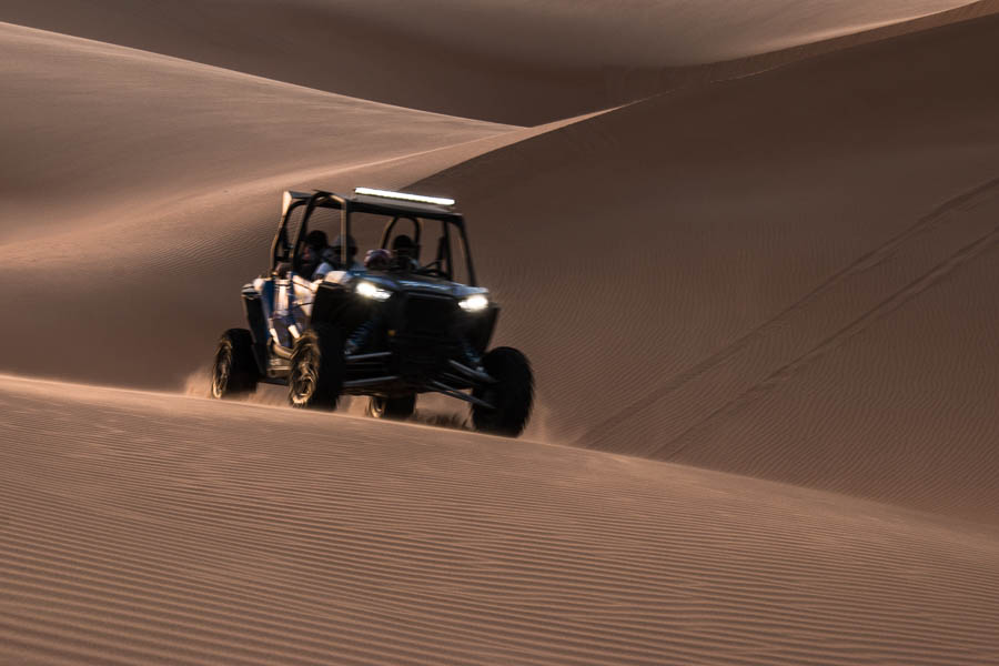 Buggy beim Dune-Bashing