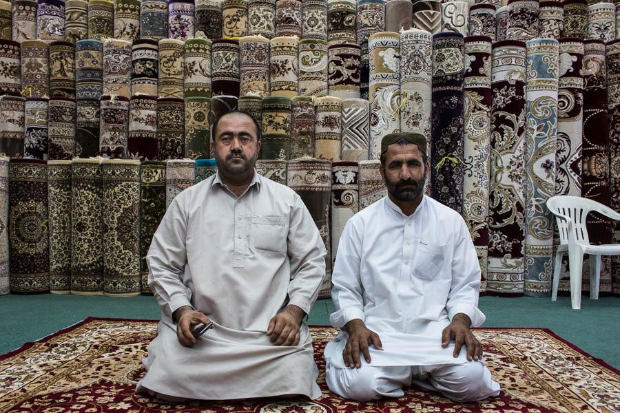 Teppichhändler in Al Ain