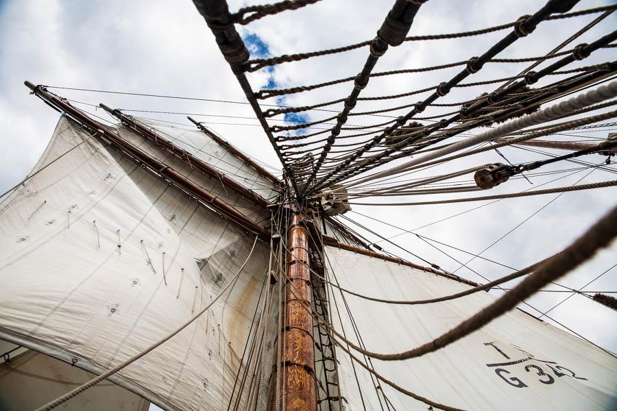 "Segelschiff ""Thor Heyerdahl""|Sailing vessel ""Thor Heyerdahl"""