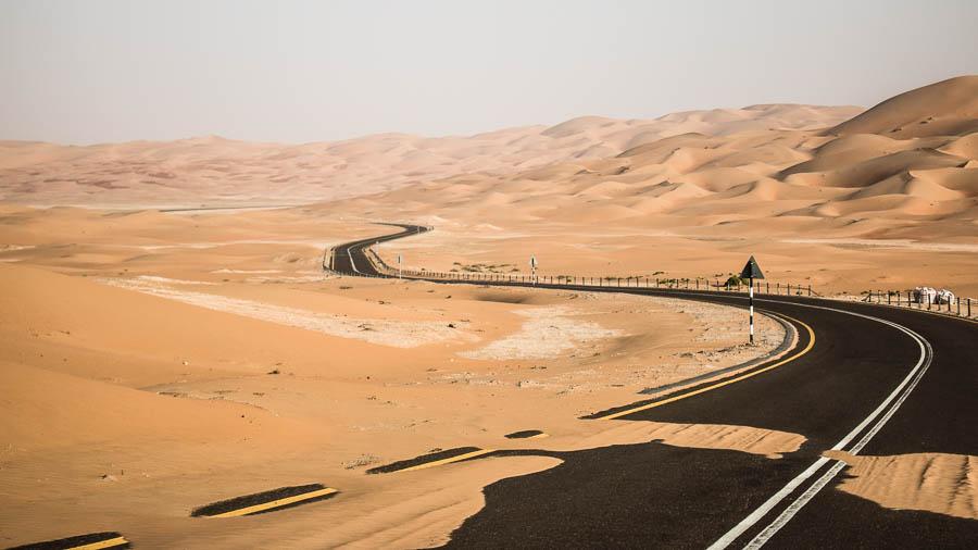 Wüste Rub al-Chali, Vereinigte Arabische Emirate