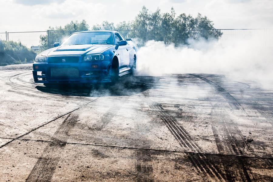 Drifting beim Speednation Tuningtreffen, Deutschland|Drifting at